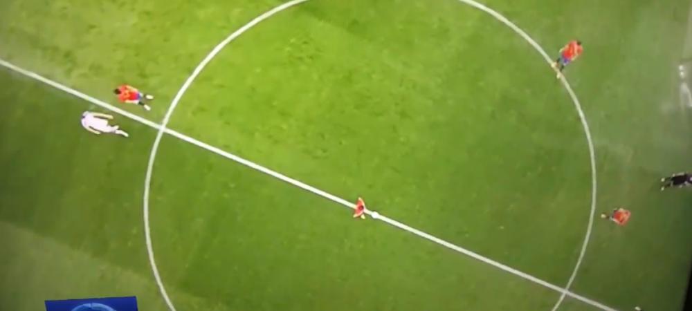 Toti fanii au privit confuzi! Ce s-a intamplat la lovitura de start a meciului Spaniei cu Cehia