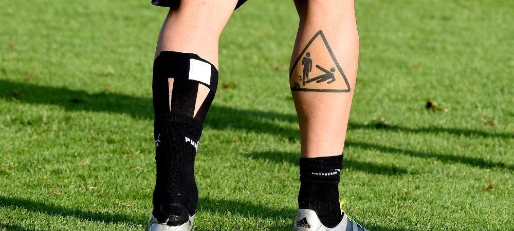 Topul celor mai tatuati jucatori de la campionatul european! Ce star din nationala Romaniei apare aici. GALERIE FOTO