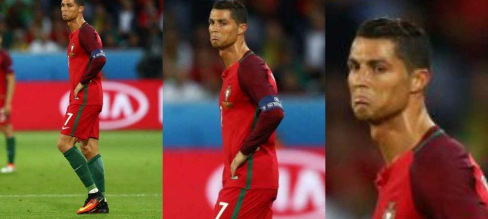 """CE IRONIC :)) Ronaldo ii acuza pe islandezi: """"S-au bucurat pentru egal de parca au castigat competitia"""""""