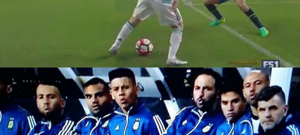 Ooooooohhhh!!! Messi a oferit FAZA ZILEI la Copa America. Banca a explodat dupa ce i-a facut portarului :)) VIDEO