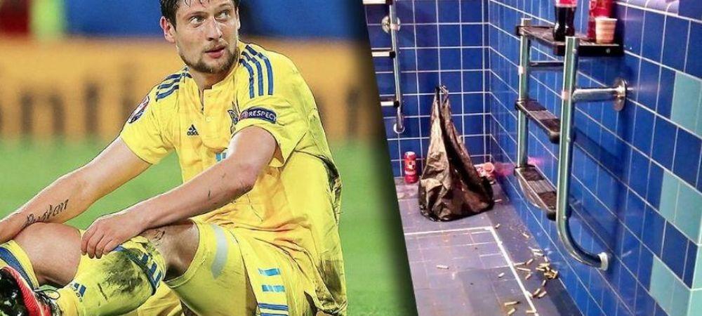 Alibec si Vardy sunt mici copii :) FOTO UIMITOR: Ce s-a intamplat in vestiarul Ucrainei dupa infrangerea 0-2 cu Germania