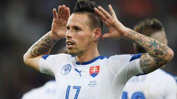 Rusia 1-2 Slovacia, meci decis de un gol absolut fenomenal marcat de Hamsik. Rezumatul VIDEO