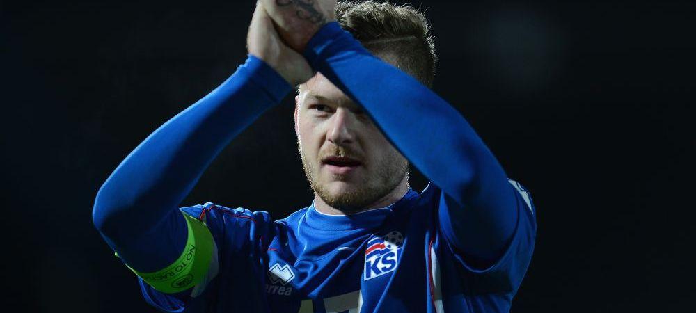 EUROPEDIA La 17 ani juca handbal iar 5 ani mai tarziu a fost numit capitanul nationalei de fotbal! Povestea vikingului care conduce Islanda