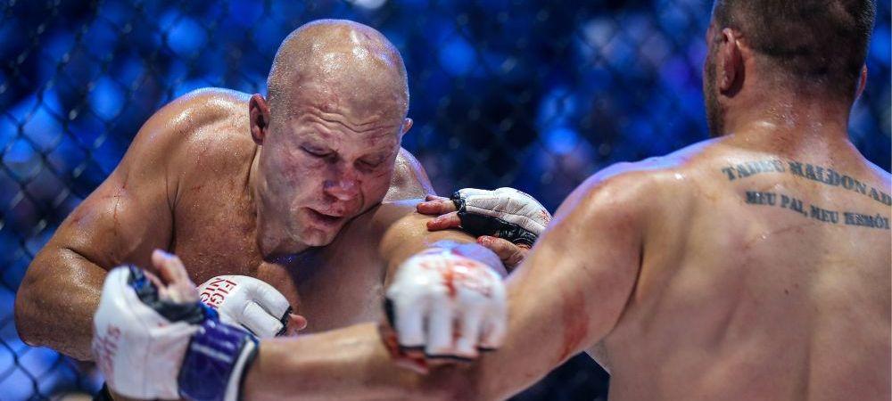 VIDEO! Fedor a oferit aseara meciul anului! Rasturnari incredibile de situatie in cea mai tare lupta de MMA din 2016