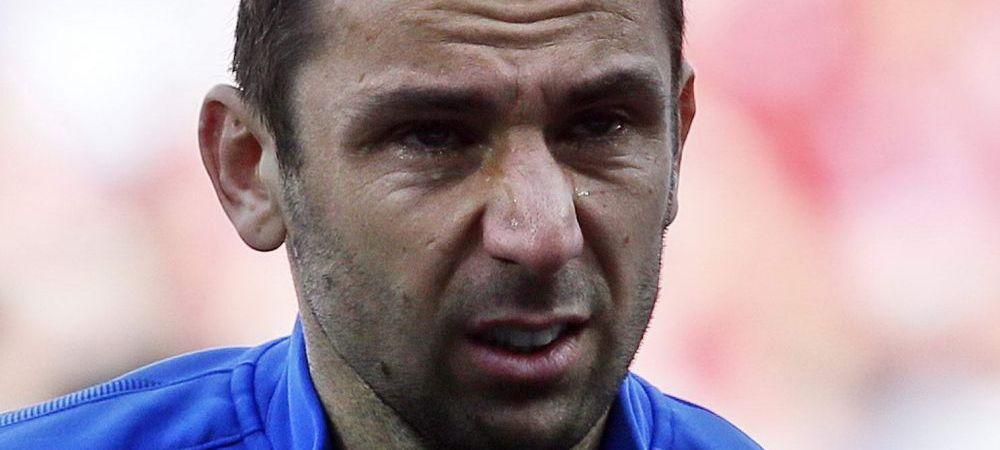 Cel mai impresionant moment de la EURO: LACRIMILE lui Srna! Tatal capitanului Croatiei a murit saptamana trecuta. FOTO