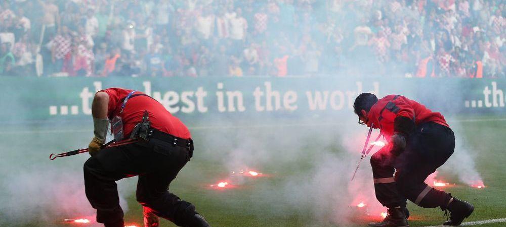 UEFA a deschis ancheta! Croatia poate fi prima echipa trimisa acasa de la EURO! Ultrasii sunt facuti praf de Federatia croata
