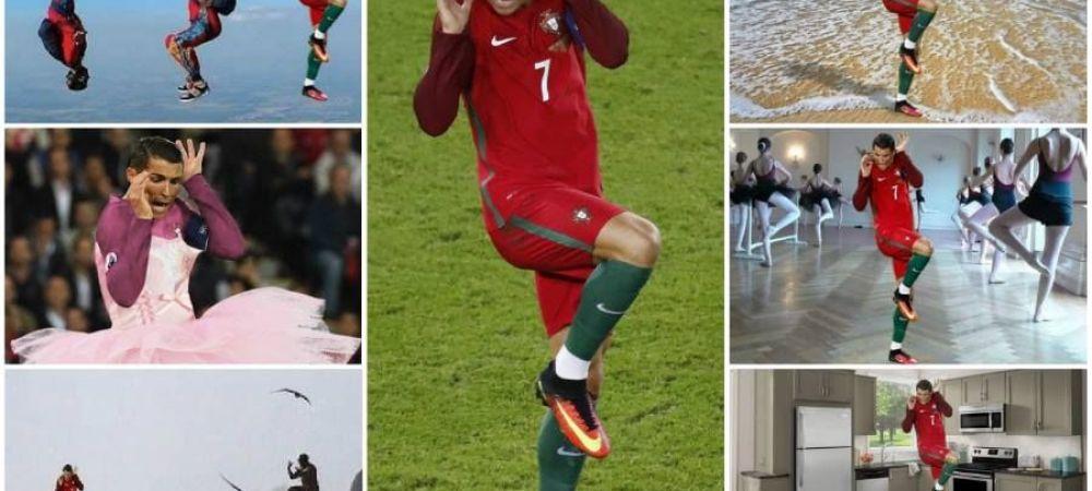 Dilema zilei pe internet: ce l-a speriat pe Ronaldo? TOATE scenariile posibile! :) FOTO