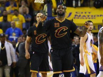 LeBron mode: ON! Comeback-ul mileniului in NBA: Cleveland a castigat primul trofeu din istorie, dupa o revenire miraculoasa
