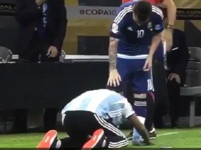Messi, GOL COLOSAL si Argentina e in finala Copa America! VIDEO: Un suporter a intrat pe teren, s-a pus in genunchi si s-a inchinat la el ca la un Zeu