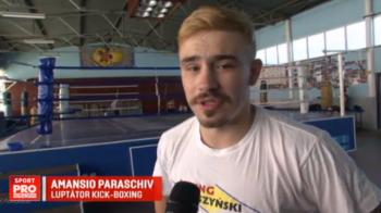 """Noi o sa-i facem mandri pe romani, daca fotbalistii n-au reusit"". Amansio Paraschiv se bate sambata, de la 20:00, IN DIRECT la Sport.ro"