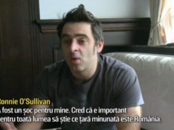 """Romanii l-au cucerit pe Ronnie O'Sullivan cu SARMALELE. Asul din snooker a urmarit cu atentie si nationala la EURO: """"A fost un soc pentru mine"""""""