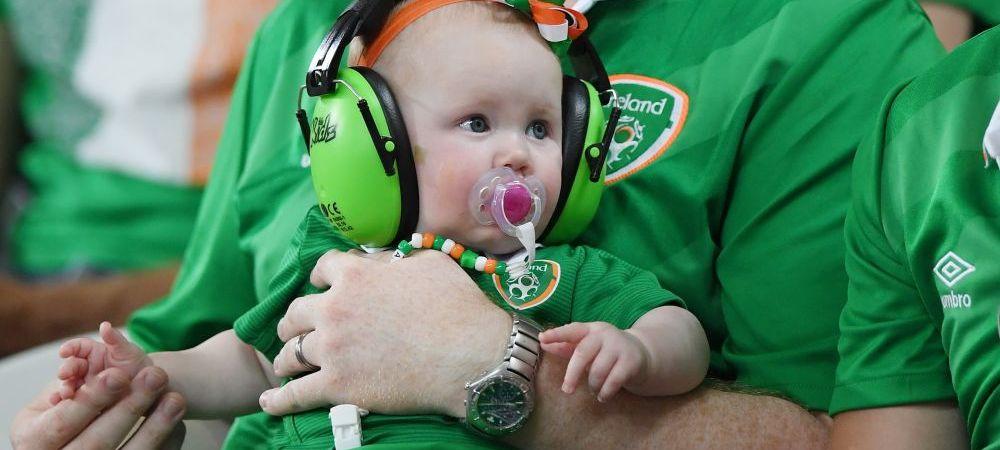 GALERIE FOTO: Ei sunt oamenii care au cucerit o lume intreaga la Euro! Cele mai tari imagini cu fanii irlandezi pe stadioanele din Franta