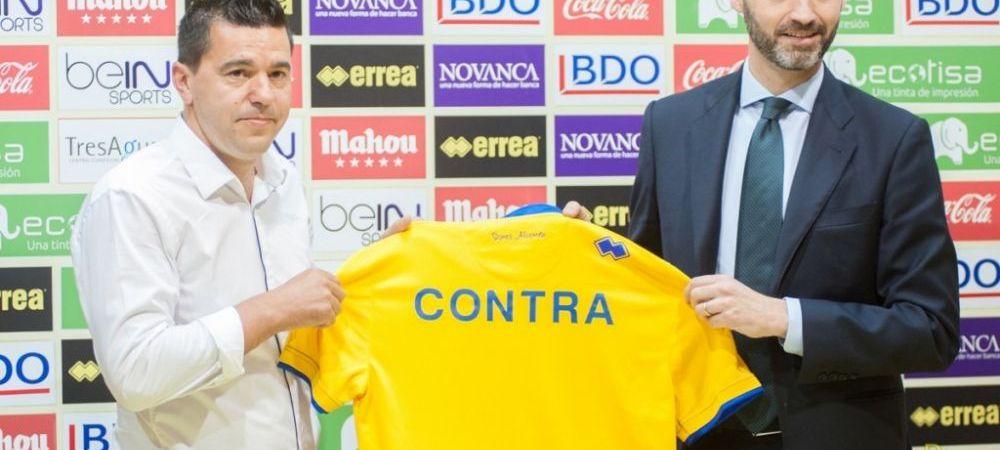 OFICIAL | Contra a fost prezentat la noua sa echipa: patronul sau detine cluburi in cinci tari din Europa si are ambitii mari