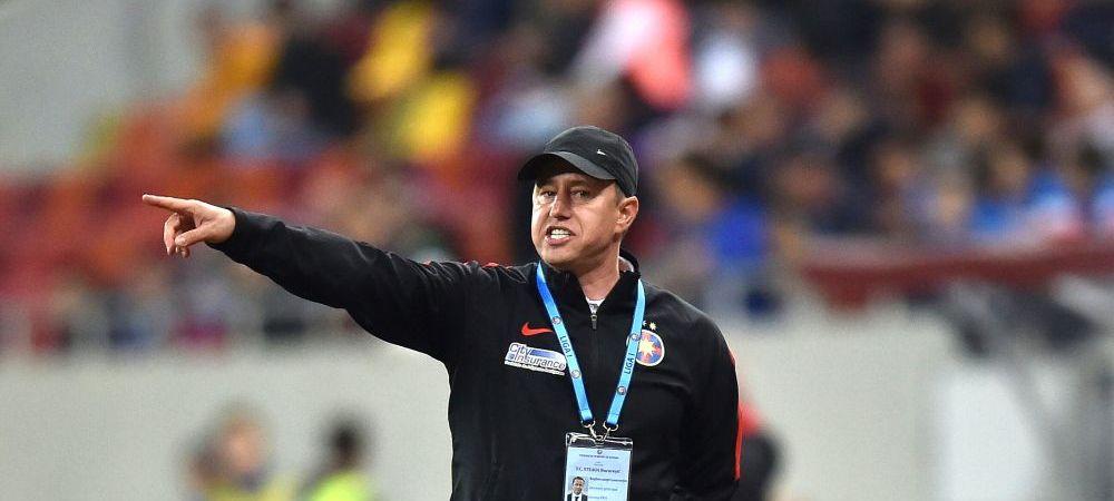 "Isi pierde Steaua antrenorul? ""Probabil vor fi discutii, probabil Gigi Becali va fi alaturi de Reghecampf"""