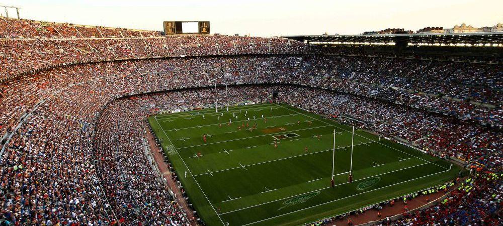 Asa ceva nu s-a mai intamplat niciodata! 99.124 de suporteri aseara pe Camp Nou, cea mai mare asistenta la un meci de rugby