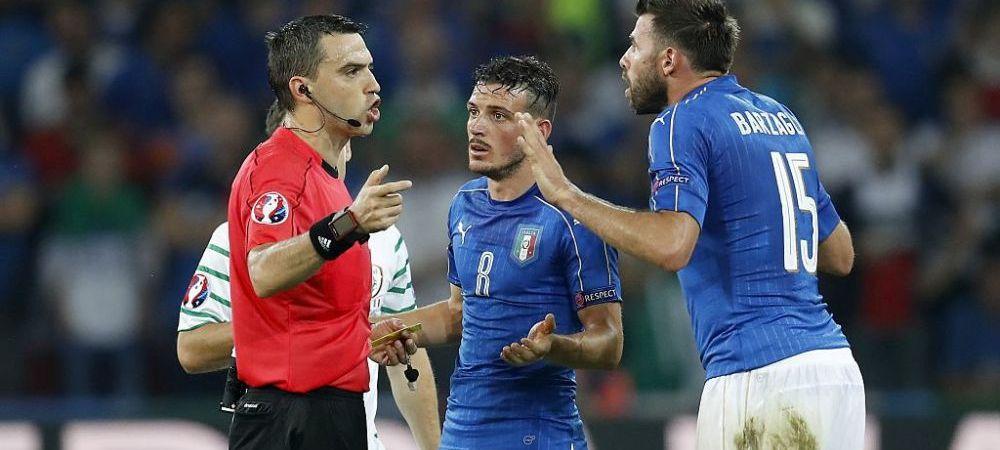 Cati bani a castigat Ovidiu Hategan pentru cele doua meciuri arbitrate la Euro! A luat cat pentru un sezon intreg de Liga I