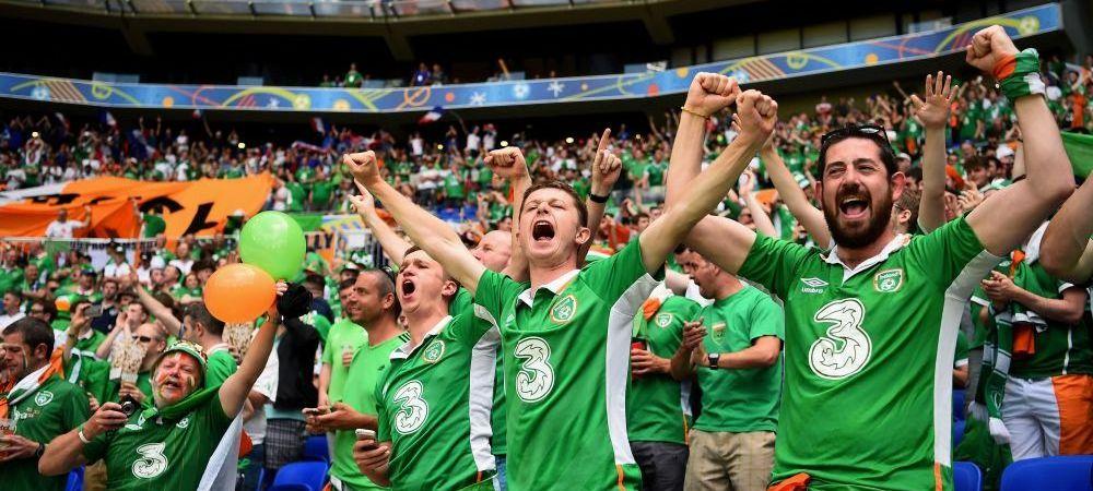 Scene senzationale dupa Franta - Irlanda! Ce au facut suporterii irlandezi in fata jucatorilor