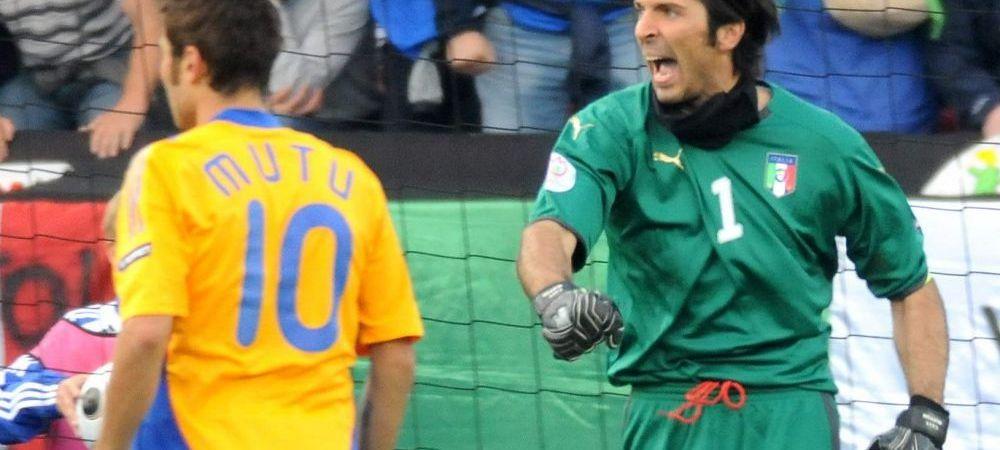 """Buffon: """"Cea mai intensa amintire de la nationala? Penalty-ul aparat cu Romania!"""" Spania - Italia, ora 19:00, la ProTV!"""
