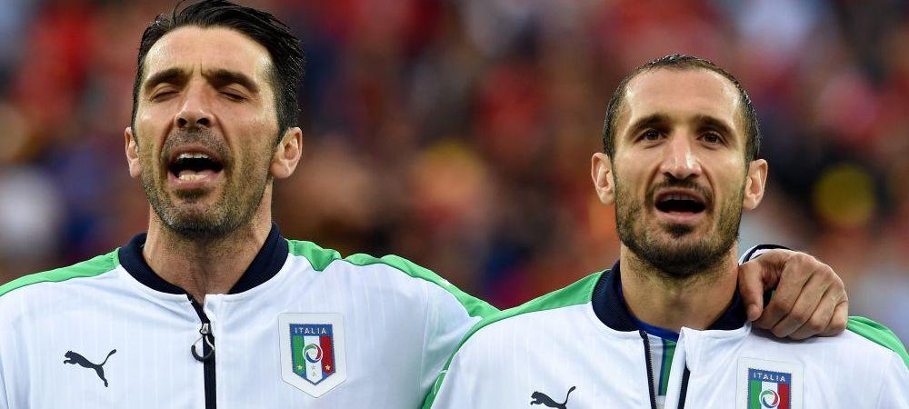 VIDEO SENZATIONAL! Italienii au cantat MINUNAT imnul national inaintea meciului cu Spania