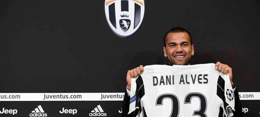 """OFICIAL   Dani Alves, prezentat la Juventus: """"Am venit aici sa fac istorie"""". Brazilianul a semnat pe doua sezoane"""