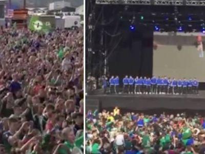 EROUL fara minut jucat la EURO s-a intors acasa. Primirea fabuloasa de care a avut parte Will Grigg la Belfast   VIDEO