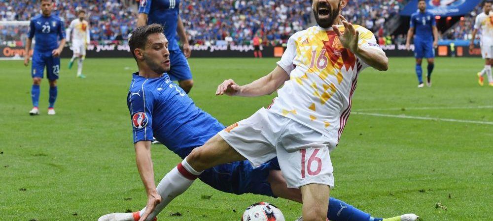 Spaniolii sunt gata sa renunte la tricourile albe dupa o noua eliminare de la un turneu final. Istoria meciurilor pierdute in acest echipament