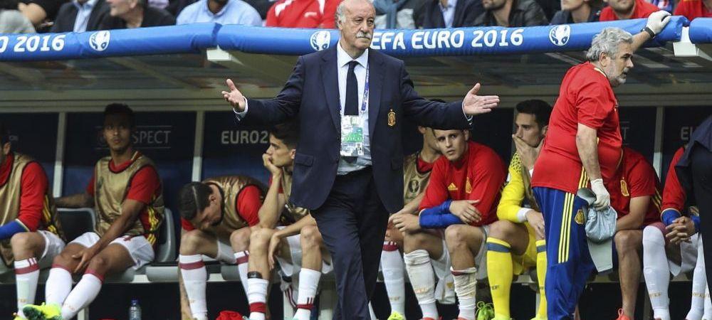 Del Bosque IESE din fotbal dupa dezamagirea de la Euro. Anuntul oficial