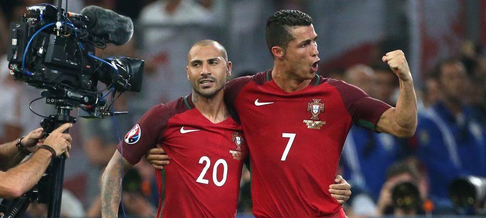 """""""Nimeni nu ne dadea vreo sansa sa ajungem pana aici, dar suntem in semifinale!"""" Reactia lui Cristiano Ronaldo dupa calificare"""