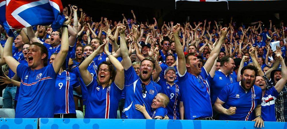 """Islanda, poveste UNICA in istoria Euro! Presedintele tarii a refuzat loja VIP pe Stade de France: """"Merg in peluza, asta nu e meci de stat cu paharul de sampanie in mana!"""""""
