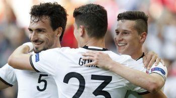 """""""7 motive pentru care Germania va trece de Italia"""". Nemtii de la Bild sunt siguri de semifinale la Euro 2016"""