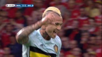 GOLAZO marcat de Radja Nainggolan in sfertul cu Tara Galilor. VIDEO