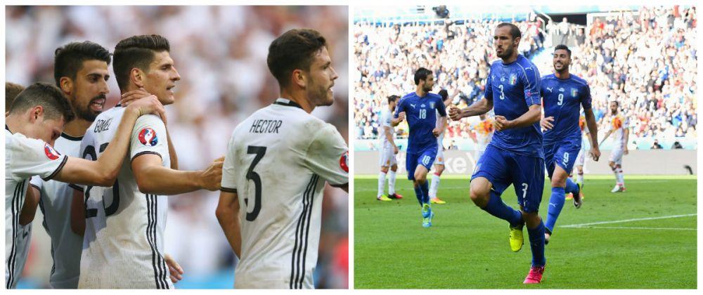SONDAJ: Cine merge mai departe inGermania - Italia? Meciul e sambata la ProTV, ora 22:00