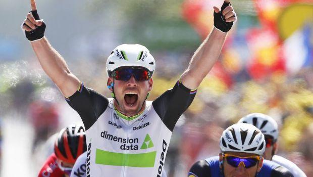 """Al 103-lea start in cel mai tare tur ciclist din lume. Prima etapa din Le Tour de France a fost castigata de """"Racheta"""" Cavendish, dupa un final electrizant"""