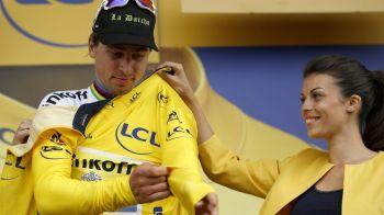 Sagan, la prima victorie in Le Tour dupa 3 ani. Slovacul a preluat tricoul galben, Contador a cazut si astazi si a venit cu intarziere