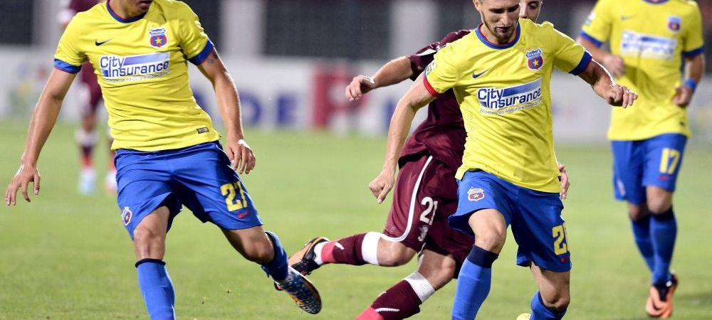 O noua plecare de la Steaua. Unul dintre fotbalistii care acum doi ani dadeau goluri in Youth League, lasat liber: a semnat cu Chiajna