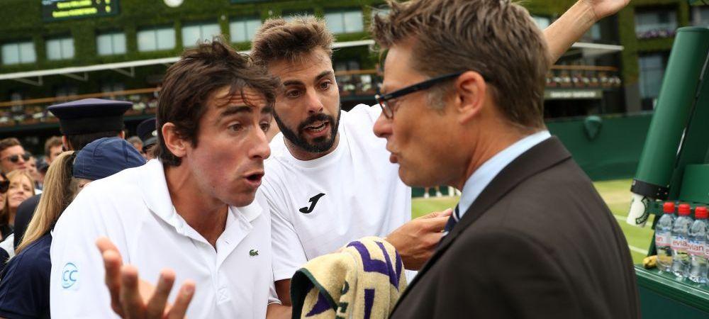 Scandal bizar la Wimbledon: un jucator e acuzat ca a urinat pe teren, in pauza dintre game-uri