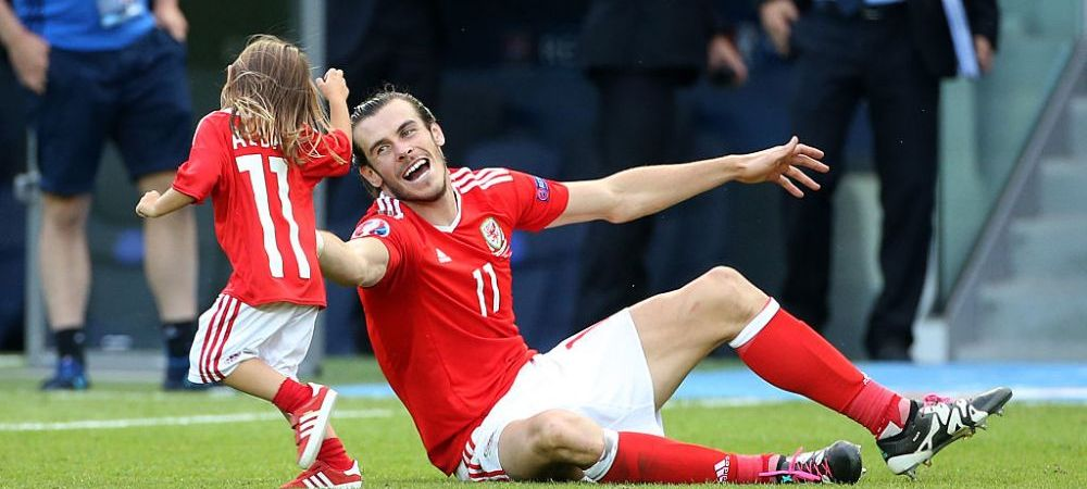 """UEFA, nu FI REA! :) Seful turneului a interzis invadarea terenului de catre copiii jucatorilor galezi! """"E Euro, nu party de familie!"""" GALERIE FOTO"""