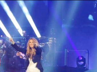 Celine Dion i-a impresionat pe francezi! S-a bucurat pe scena la toate golurile cu Islanda, la fel ca Adele cu Romania. VIDEO