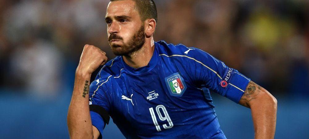 ULTIMA ORA: City a facut oferta de 45 de milioane de euro pentru Bonucci. Raspunsul lui Juventus