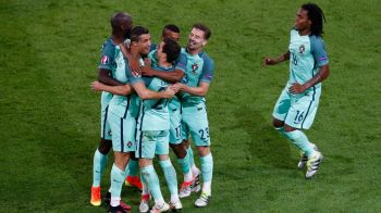 PORTUGALIA, PRIMA FINALISTA DE LA EURO! Cristiano Ronaldo si Nani au marcat in Portugalia 2-0 Tara Galilor. Germania - Franta, joi, 22:00, la ProTV!