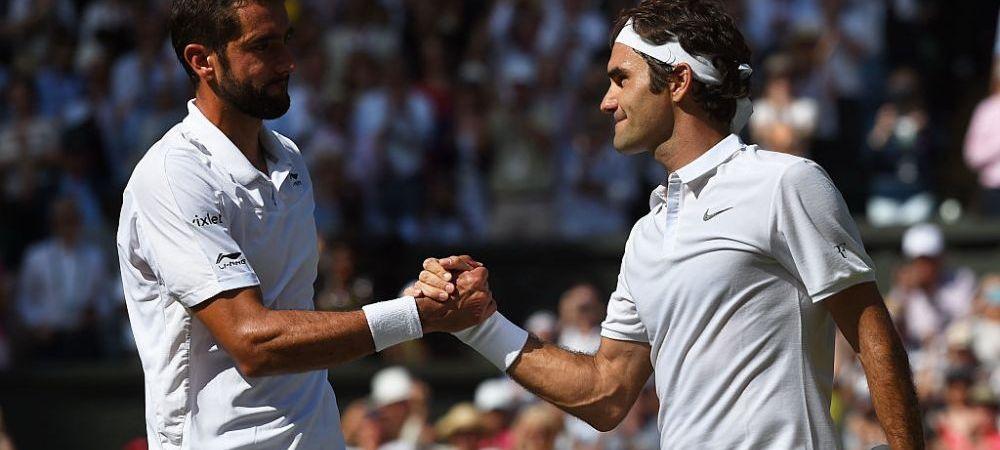 """""""Federer refuza politicos sa piarda la Wimbledon!"""" Meci dramatic, elvetianul ramane in carti pentru primul trofeu de Grand Slam dupa 4 ani. Tabloul semifinalelor"""