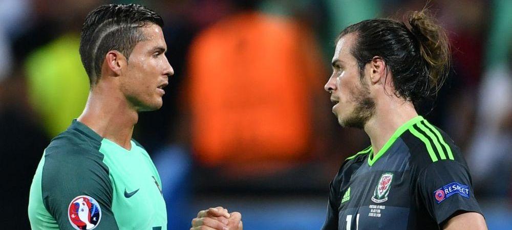 Ce a discutat Cristiano Ronaldo cu Gareth Bale pe teren la finalul meciului Portugaliei cu Tara Galilor. Dezvaluirile portughezului