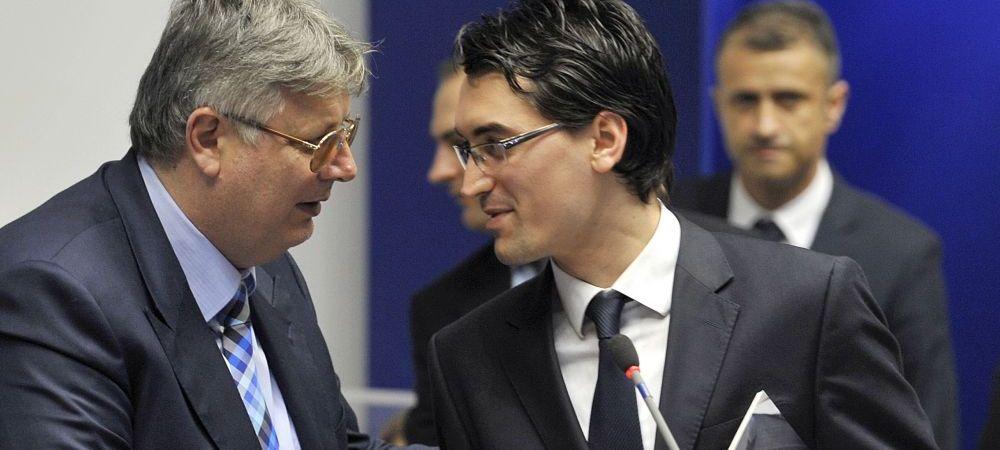 Razboiul CALD din fotbalul romanesc | FRF si LPF nu se mai ascund: Iorgulescu a vrut sa-l saboteze pe Burleanu, seful FRF pregateste EXCLUDEREA acestuia din CEx