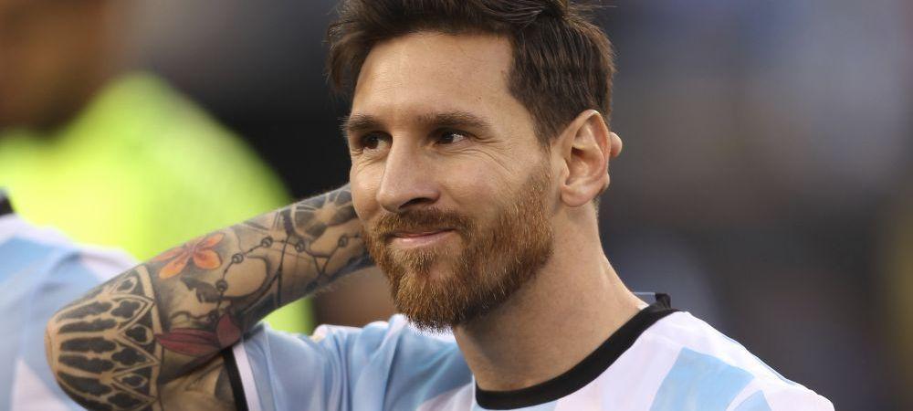 Leo Messi s-a razgandit, nu se mai retrage din echipa nationala
