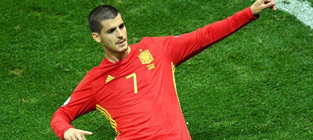 Unde ar putea ajunge Alvaro Morata. Agentul atacantului a discutat azi cu oficialii de la Madrid soarta jucatorului