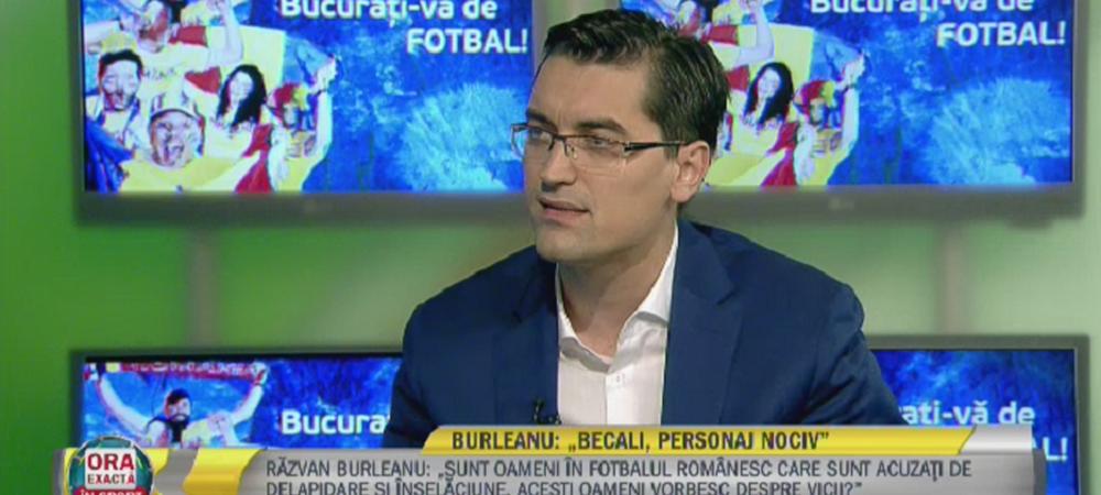 """Burleanu, la Sport.ro: """"Fotbalul nu mai are nevoie de oameni ca Becali, e nociv!"""" / """"Iordanescu ramane!"""" / """"Daum, salariu comparabil cu cel al lui Piturca!"""""""