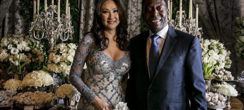 La 75 de ani, Pele s-a casatorit a treia oara! A rezervat un hotel intreg pentru invitatii lui