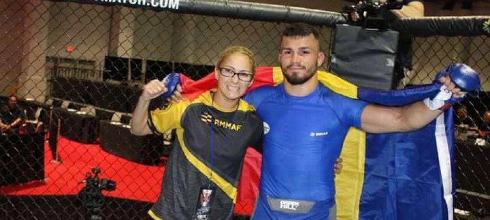 Performanta mare pentru MMA-ul amator din Romania. Doi romani au cucerit medalii la mondialul organizat in colaborare cu UFC
