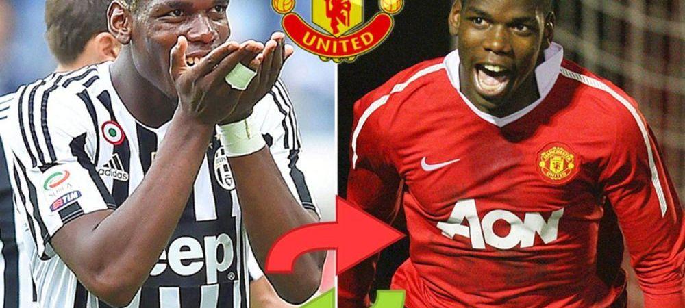 Manchester United ar putea sa rateze transferul lui Pogba. Ce oferta a primit mijlocasul astazi