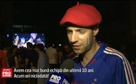 Cum au trait francezii din Bucuresti finala Euro. Un pusti a purtat tricoul albastru al stelistului Dica
